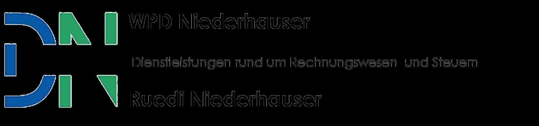 WPD Niederhauser, Rechnungswesen Steuern